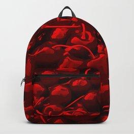 cherries pattern reacdr Backpack
