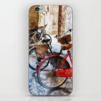 bicycles iPhone & iPod Skins featuring Bicycles by Elliott's Location Photography