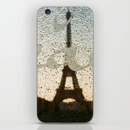 peace in paris iPhone Skin