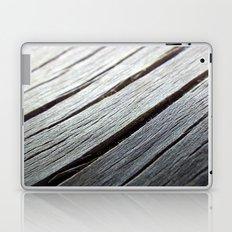 Rustic wooden floor (grey colors) Laptop & iPad Skin