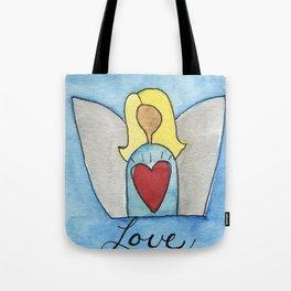 Angel of Love Tote Bag