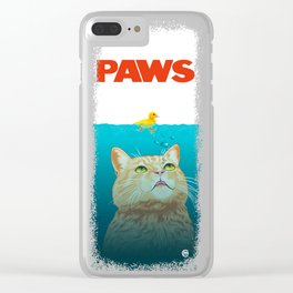 Paws! Clear iPhone Case