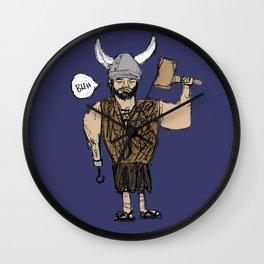 Viking Joe Wall Clock