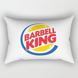 Barbell King Rectangular Pillow