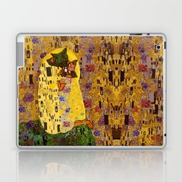 Kiss Klimt Cats Laptop & iPad Skin