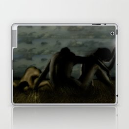 Three women in a field Laptop & iPad Skin