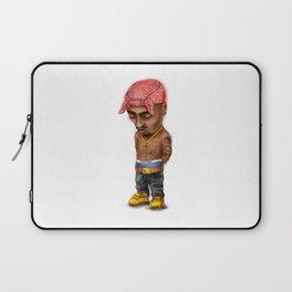 Pac, gangster rap, mini icon. Laptop Sleeve