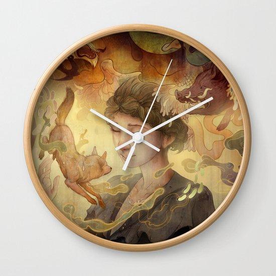 Silent Visions Wall Clock