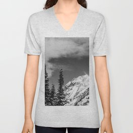 Trees Taller than the Highest Peak Unisex V-Neck