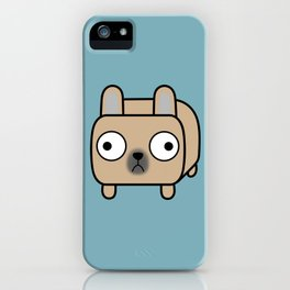 French Bulldog Loaf - Fawn Frenchie iPhone Case