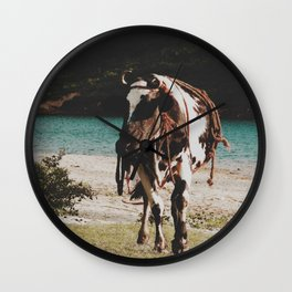 Boss cow  Wall Clock