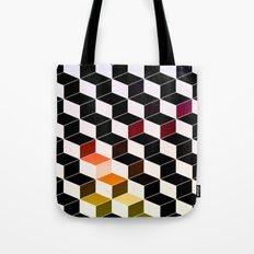 Dark Cubes Tote Bag