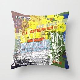 Art That Rocks Throw Pillow