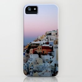 Dawn of Santorini Greece iPhone Case