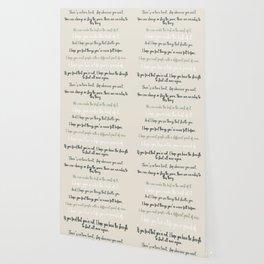 For what it's worth by F Scott Fitzgerald 2 #minimalism #poem Wallpaper