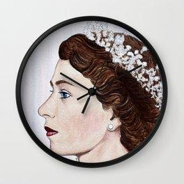 Elizabeth II Wall Clock