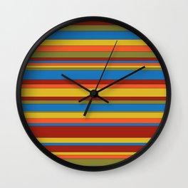 Sarape Wall Clock