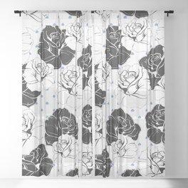Spades Sheer Curtain