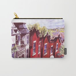 Grosvenor Ave. Montreal Quebec Canada by Joel Seguin Carry-All Pouch