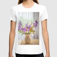 iris T-shirts featuring Iris by Svetlana Korneliuk