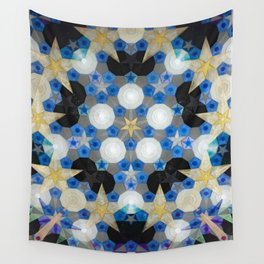 Suspended Stars Wall Tapestry