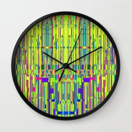 Secret Meetings and Shushed Affections. Wall Clock