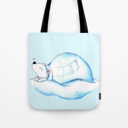 Home Sweet Igloo (North Pole) Tote Bag