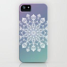 Jellyfish mandala iPhone Case