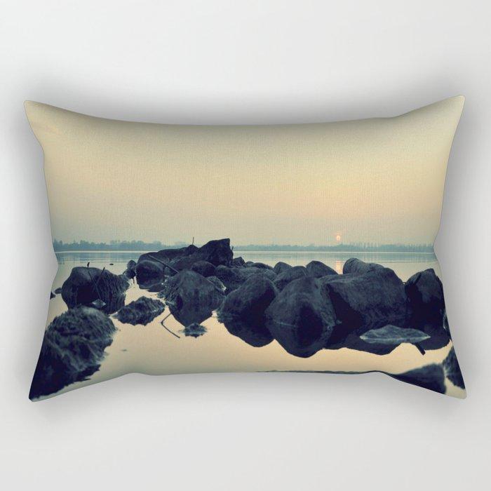 calm # Rectangular Pillow