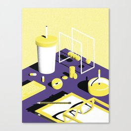 Chillin - 1 Canvas Print