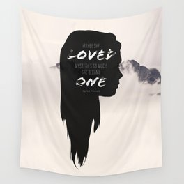 Paper Towns: Maybe she loved mysteries so much Wall Tapestry