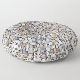Beach Pebbles Floor Pillow
