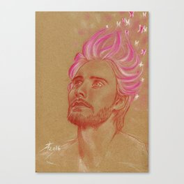 Fantasy in Pink Canvas Print