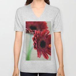 flowers 2 Unisex V-Neck