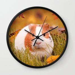 Autumn Cutie Wall Clock