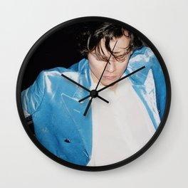 harry blue Wall Clock