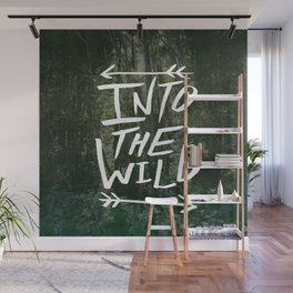 Into the Wild III Wall Mural