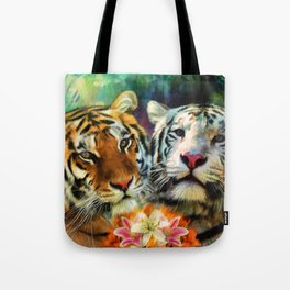 Tiger Lillies Tote Bag