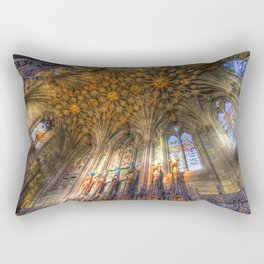 The Thistle Chapel St Giles Cathedral Edinburgh Rectangular Pillow