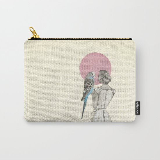 A Bird in the Hand Carry-All Pouch