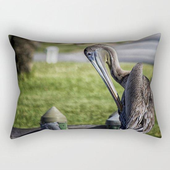 Pelican Itch Rectangular Pillow