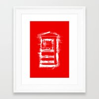 telephone Framed Art Prints featuring Telephone by Sir Rupert