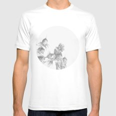 In which fish show concern Mens Fitted Tee MEDIUM White