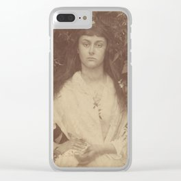 Pomona by Julia Margaret Cameron,1872 Clear iPhone Case
