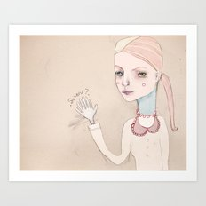 The High Five Seven Art Print
