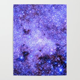 Lavender gAlAxy. Poster