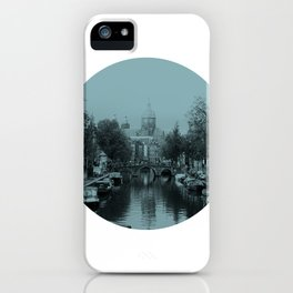 Amsterdam Canal #1 iPhone Case