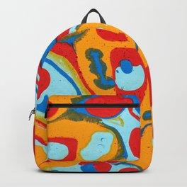 Flattened Harlequins Backpack