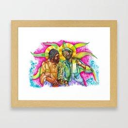 Oda a la diosa Mayahuel / Ode to the godess Mayahuel Framed Art Print