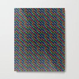 Rainbow Trips Metal Print